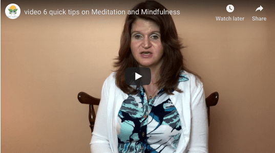 Preview Jenna video quick tips on meditation